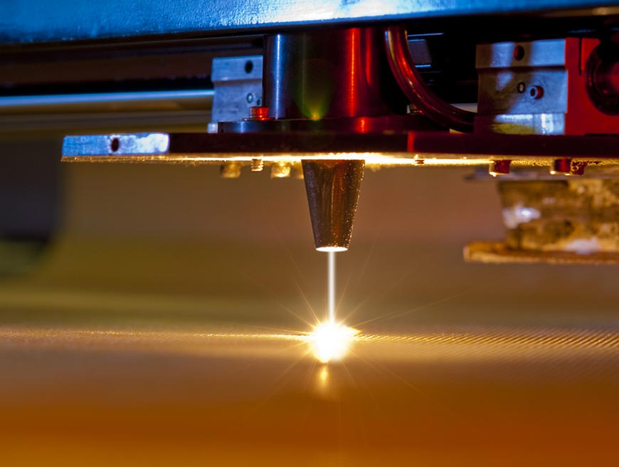 Laser metal cutting up to 20 mm