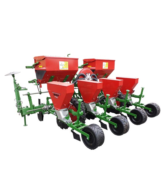Pneumatic seeder PSK-4 (with casted deep wheels)