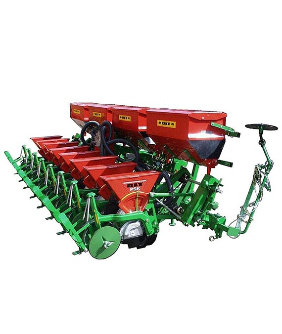 Pneumatic seeder PSK-8 (with casted deep wheels)