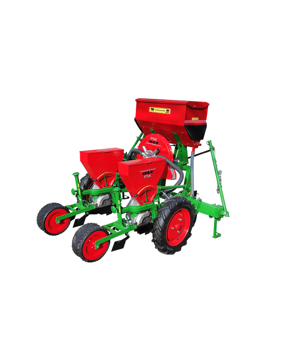 Pneumatic seeder PSK-2 (with wide rubber tread wheels)